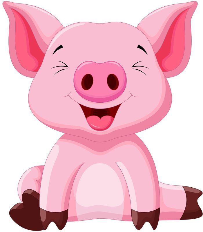 167 best pig clip art images on pinterest pigs little pigs and rh pinterest com cute piggy clipart cute pig clipart