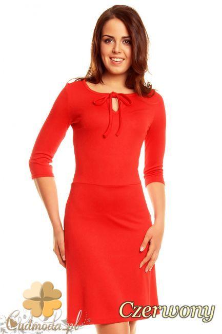 Modna sukienka wiązana pod szyją marki NOMMO.  #cudmoda #moda #styl #ubrania #odzież #sukienki