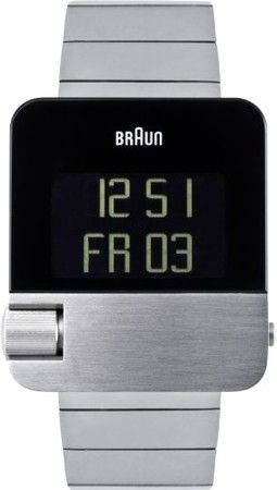 BRAUN BN0106SLBTG- Steel. Not a fan of digital watches but this looks cool.