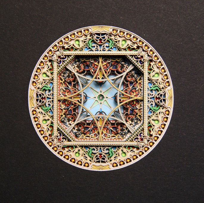 Best Laser Cut Paper Art Images On Pinterest Mandalas Crafts - Beautiful laser cut paper art eric standley