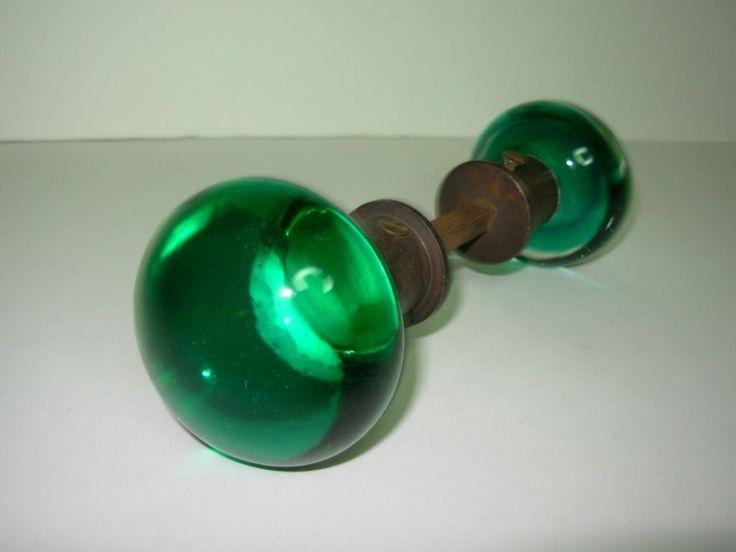 45 best Vintage glass door knobs images on Pinterest | Glass door ...