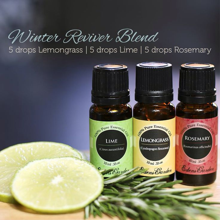 Love Edens Garden oils!