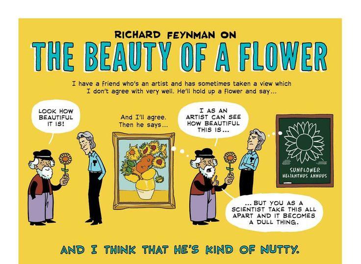 The Beauty of a Flower by Richard Feyman