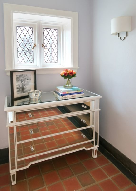 Elsby Mirrored Chest By Glam Furniture