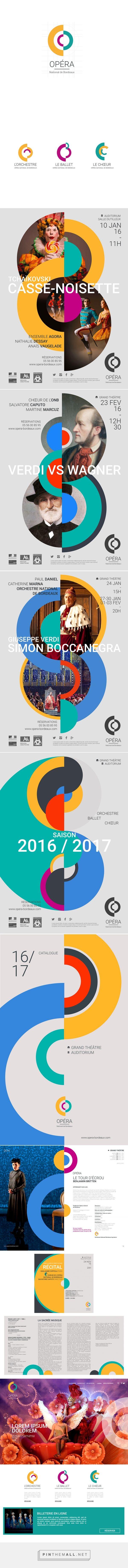 identité de l'opéra national de bordeaux by Jérémie Bonne