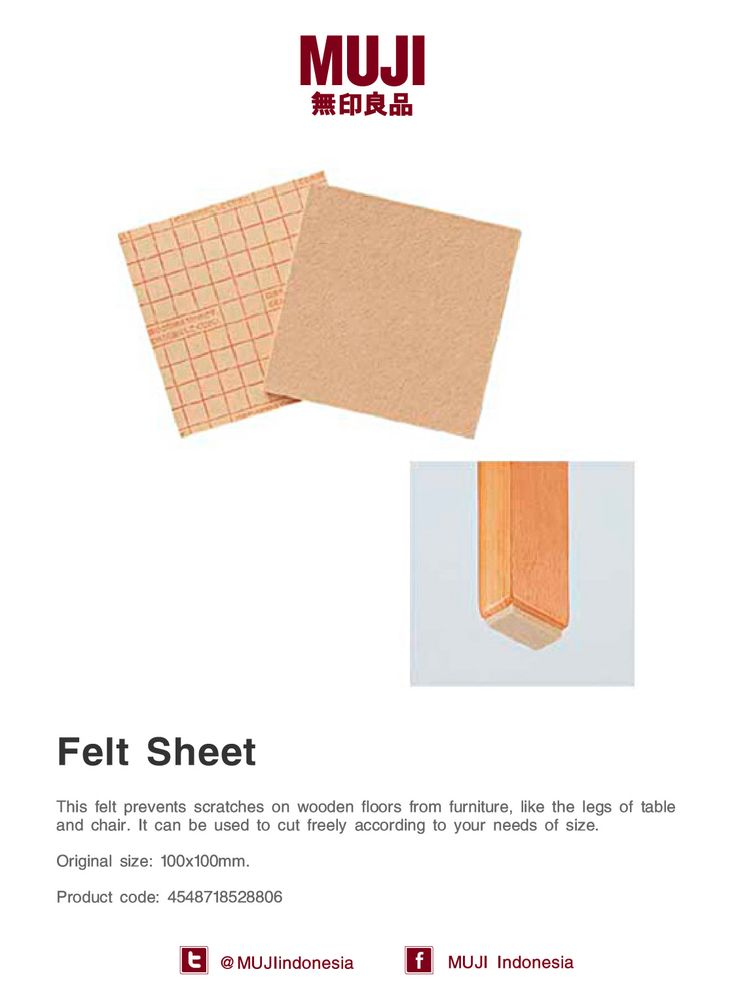 Need something to prevents your wooden floor from furniture scratches? Our Felt Sheet can help you with it.