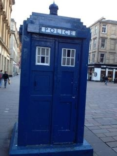 One of many, many reasons why I love Glasgow ;): Favourite Places, Favourit Places, Police Boxes, Fandom Explosion