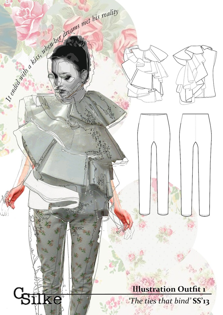 LSAD fashion graduates: Clare Silke