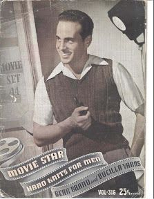 Movie Star Hand Knits for Men Vol. 316 - 1940