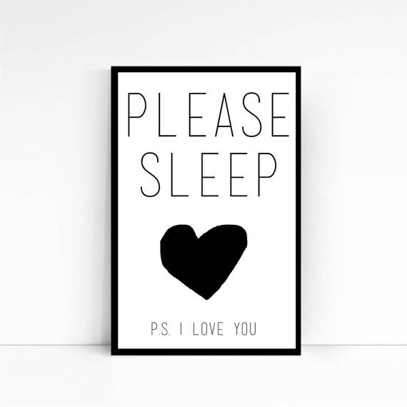 Illustration Title: Please Sleep    Please Sleep A3 Print is a high quality digital print of an original collage/ pen drawing then digitally