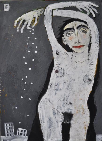 Elena Schumacher (1969) werd geboren in Rusland Ze werkte als leraar op de kleuterschool. Het is pas in 2008 als ze professioneel begint te schilderen.  Haar familie is haar voornaamste bron van inspiratie, haar schilderijen zijn allemaal gebaseerd op gevoelens en emoties. Men kan zeggen dat Elena schildert in de stijlen van het expressionisme, het postmodernisme en abstractie.