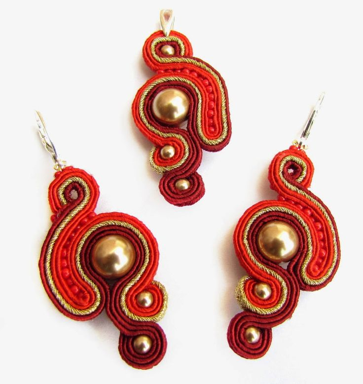 Red exclusivity | Jotemka Soutache
