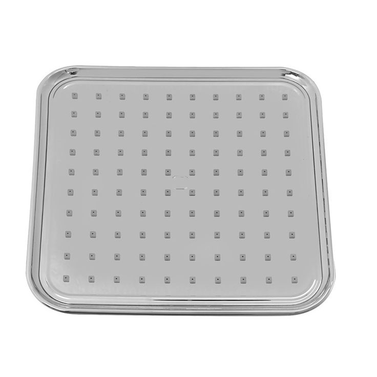 Klaxon Zippy 8x8 (Inches) Shower Head Chrome Finish #Kriosdirect #Shower_head