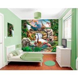 Junglekamer  | Fotobehangen.nl