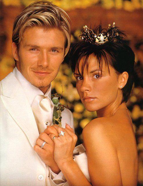 My favourite British couple Victoria and David Beckham (Posh and Becks)