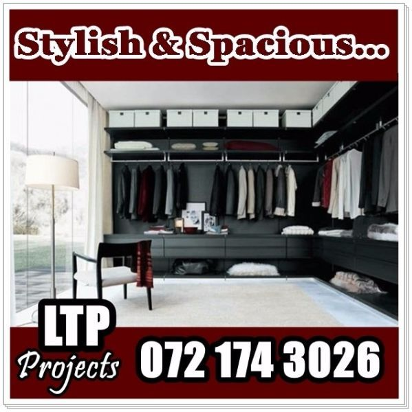 See our website for more information www.ltpprojects.co.za we specialise in carpentry, renovations and electrical work.