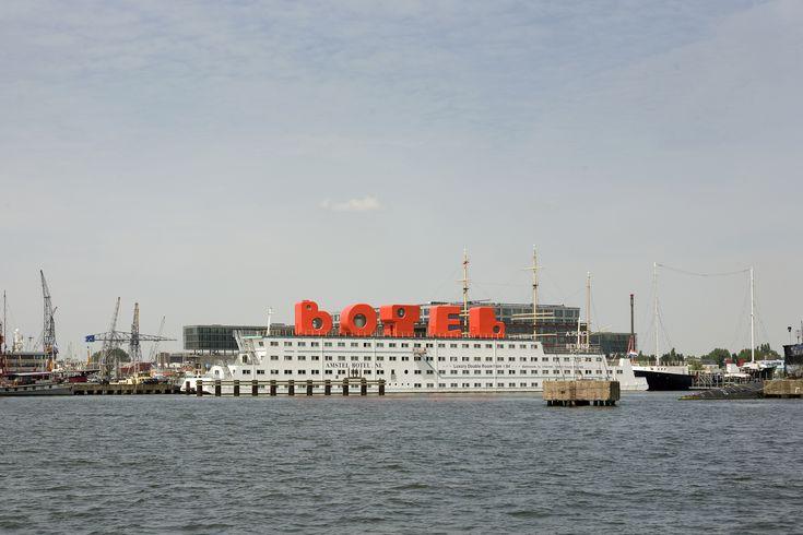 Botel / MMX Architecten i.s.m. Jord den Hollander / Amstel Botel, Sandra Chedi / NDSM-Plein 3