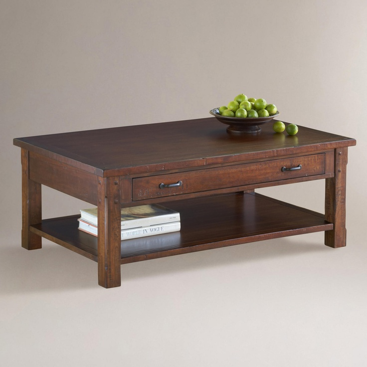 Madera Coffee Table World Market Living Room Spruce Up Pinterest