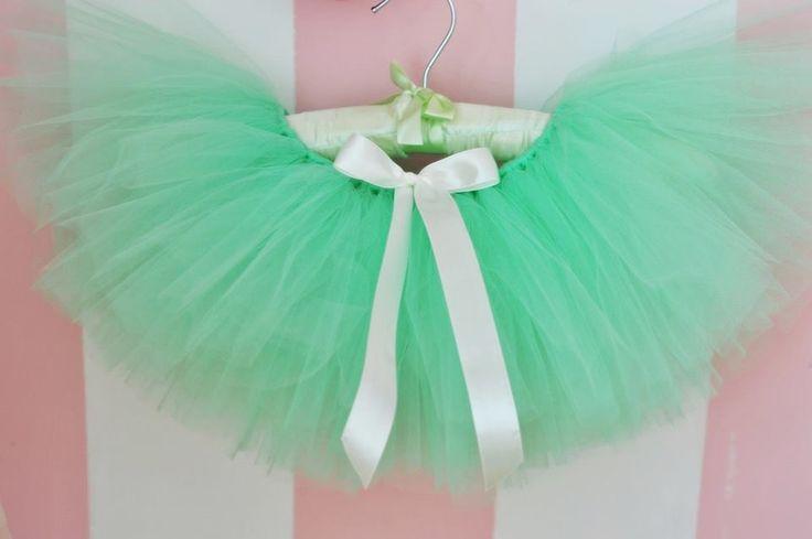 Madame Allure - Spódniczka tiulowa - miętowa  Madame Allure - internetowy butik ślubny