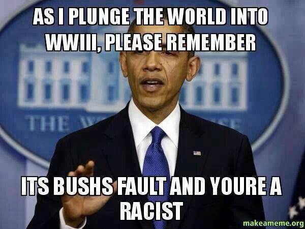 Point out Obama flaws and your labelled a rasict.