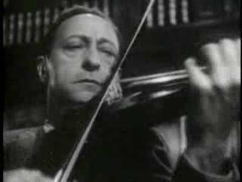 Jascha Heifetz plays Melodie, from Gluck's well known opera Orfeo ed Euridice