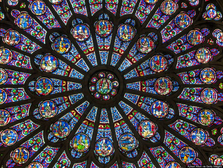 The Most Stunning Stained Glass Windows In The World: Notre Dame Cathedral, Paris, France