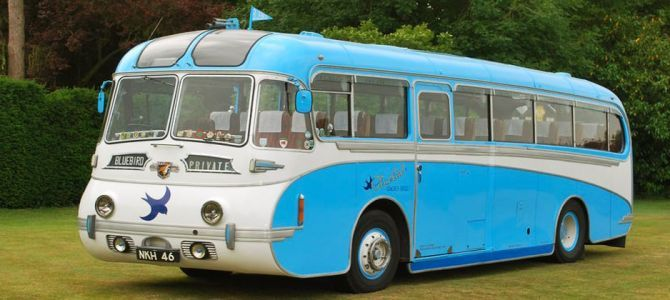Classic and Vintage Wedding Buses Wedding Bus Hire