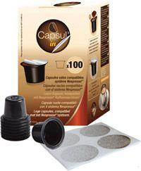 Empty Coffee Capsules
