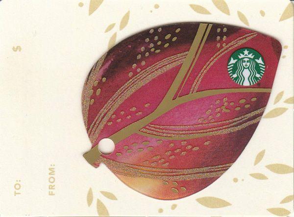 69 best starbuck card images on pinterest gift cards gift mini leaves 2015 starbucks card negle Gallery