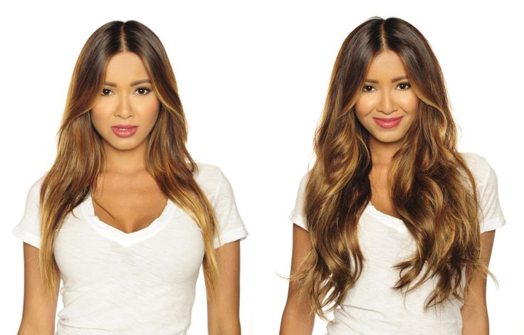 The 72 Best Hair Extensions Before And After Images On Pinterest