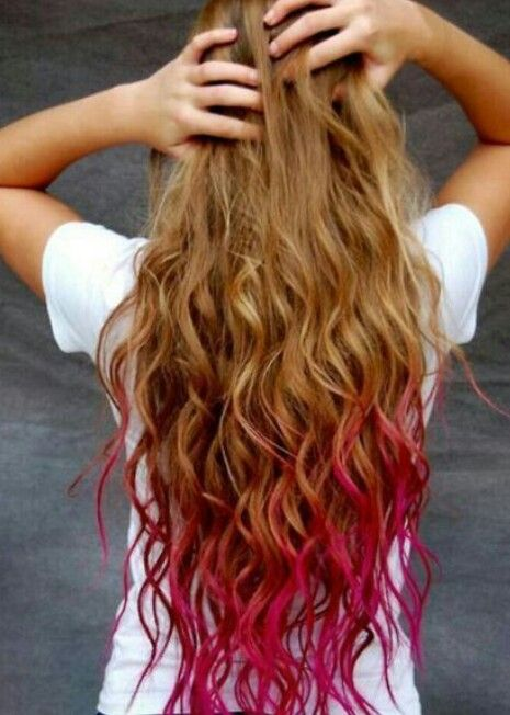 22 Cool Examples Of Hair Chalking | Summer, Ombre hair dye ...