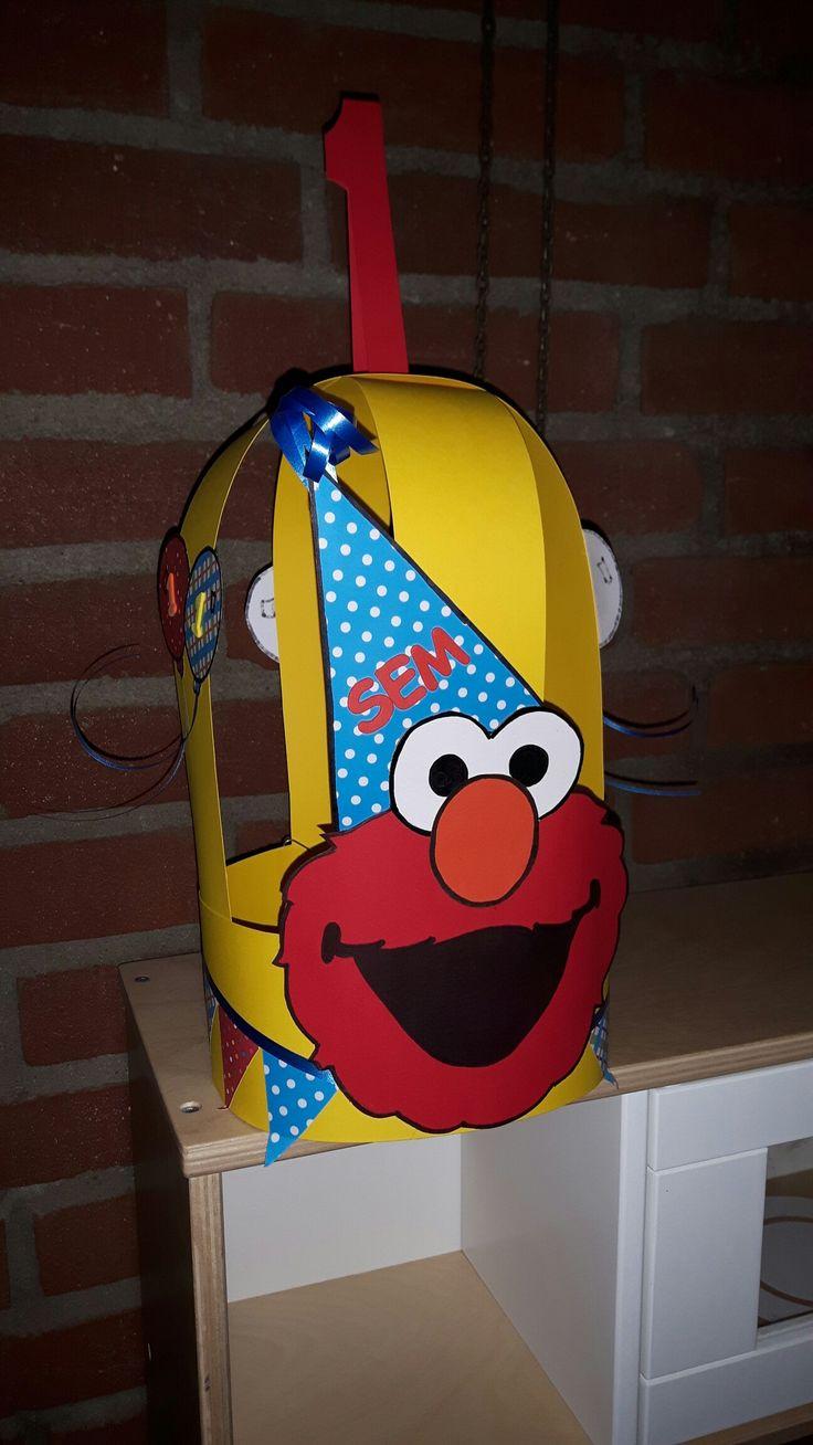 Elmo verjaardagskroon