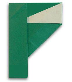 Origami alphabet(F)