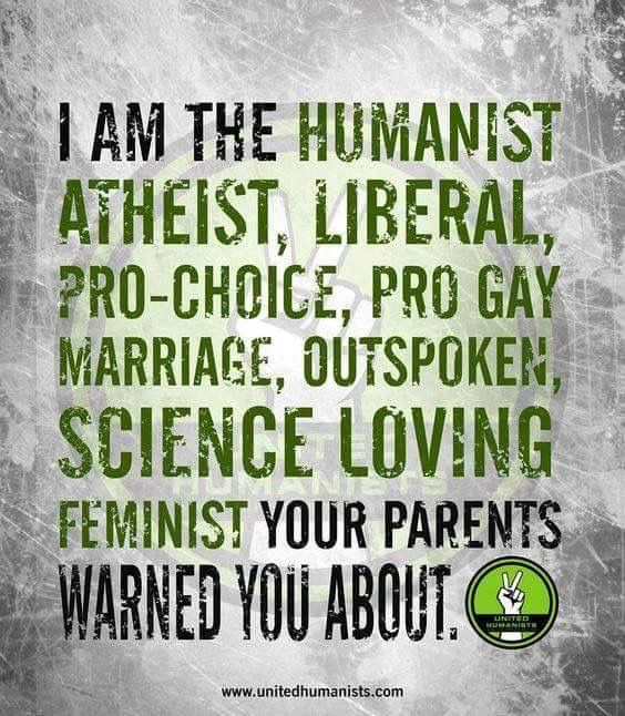 Love it. Humanist Me!!