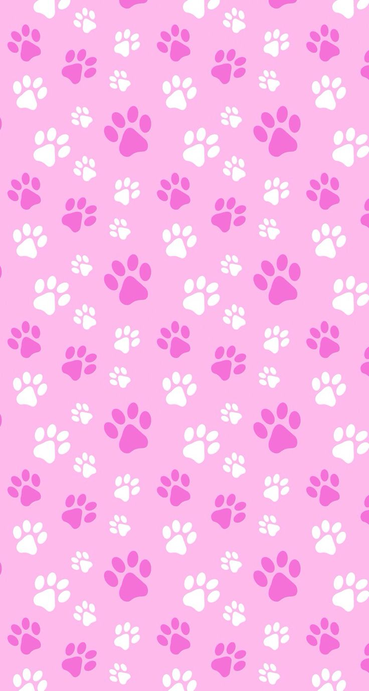 Puppy kitten pets paws pink | Papers imprimibles ...