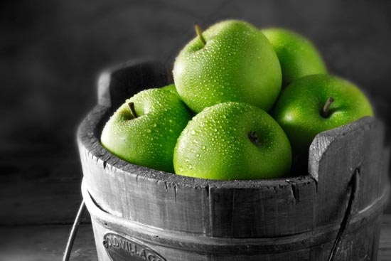 Crispy green apples #lifeinstyle #greenwithenvy
