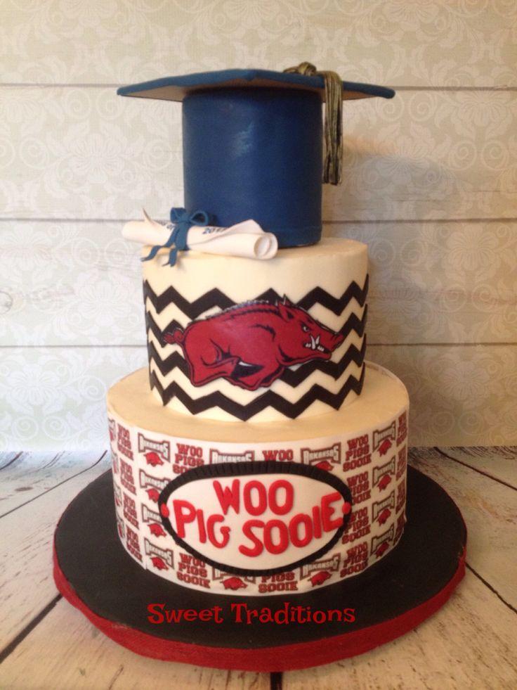 Grad cake for a future razorback