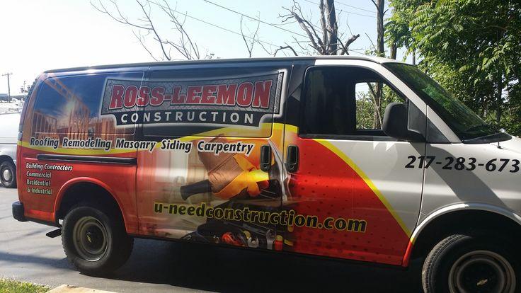 Ross Construction Vehicle Wraps Pinterest Construction