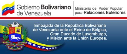 Embajada Venezuela EU: Legalizaciones