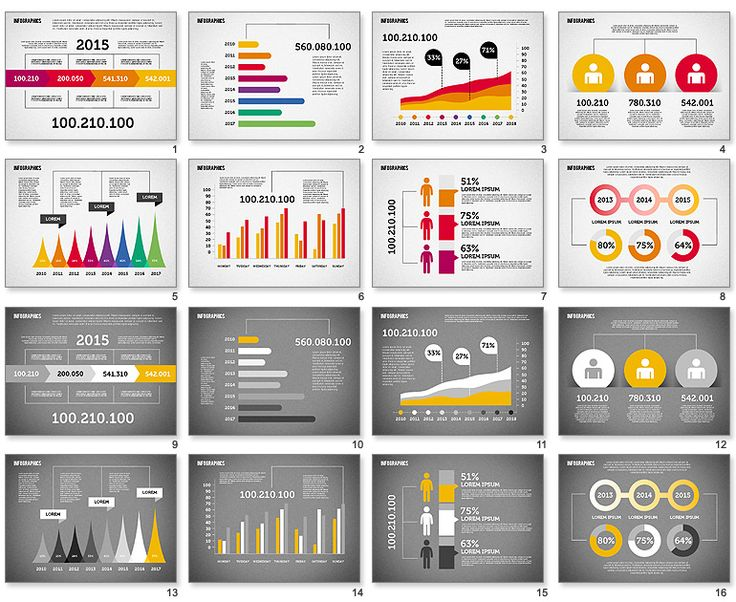 flat-design-diagrams-set-powerpoint.jpg (770×630)