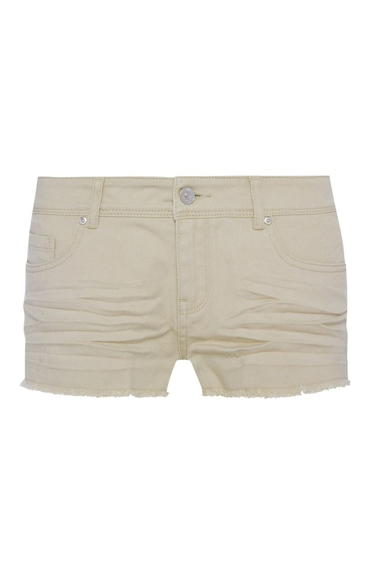 Primark - Sand Basic Shorts
