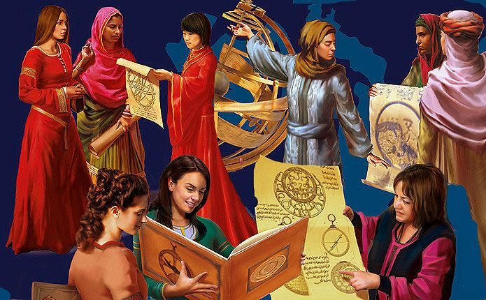 Extraordinary Women from the Golden Age of Muslim Civilisation | 1001 Inventions