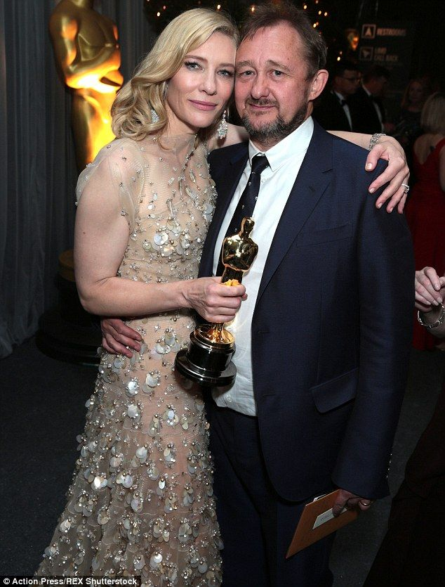 Longtime love: Cate and Andrew, pictured at the Oscars in March 2014, have been married for almost 18 years