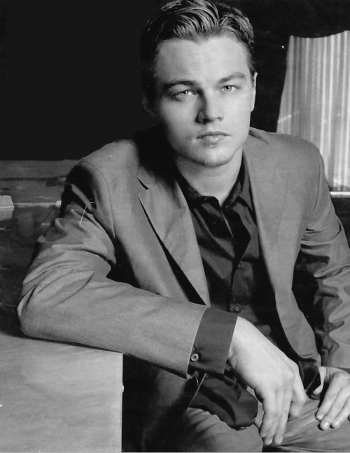 """leonardo dicaprio (""""I don't always look hot, but when I do, it's always."""")"""