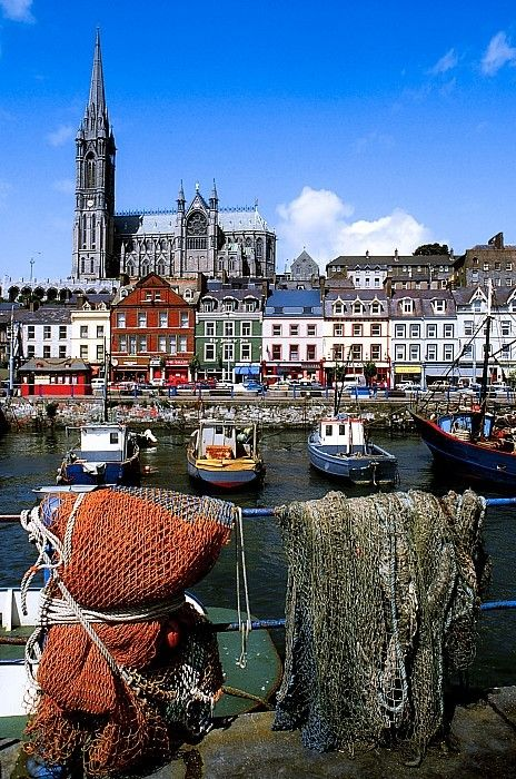 Cobh, Co Cork, Ireland, Cobh Cathedral... I am definitely going here someday!!