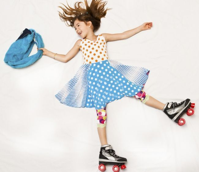Looking for unique dresses for tweens?  This dress will set them rolling.  Only at TwirlyGirl.  Click to shop.