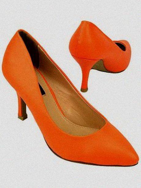 Escarpins orange