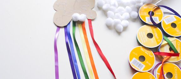 Make the Rainbow. A video how-to for an easy kids craft for spring. | Babble