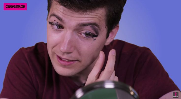 Watch Clueless Guys Try to Create a Sexy Cat-Eye and Fail Miserably