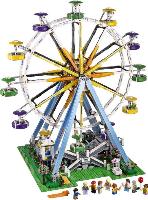 Ferris Wheel press release | Brickset: LEGO set guide and database